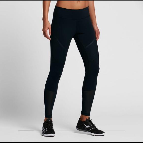 e10a6de4a80fc Nike Pants | New Power Legendary Mid Rise Training Tights | Poshmark